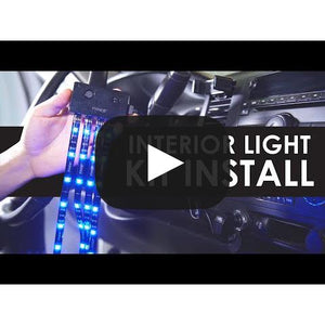"Instant Plug & Glow™ HyperBright™ 12"" LED Extension Strips - White"