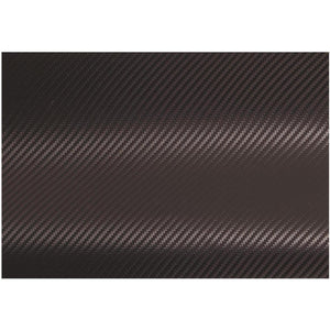 "Adhesive Wrap Film 12"" x 36"" Roll Carbon Fiber"