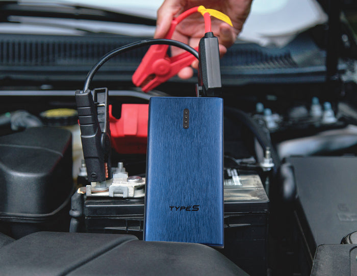 TYPE S 12V 7.0L Jump Starter Power Bank with USB C Charging