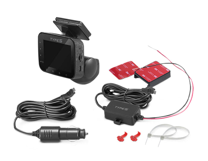 TYPE S 360° Smart HD Dash Cam with Live Stream