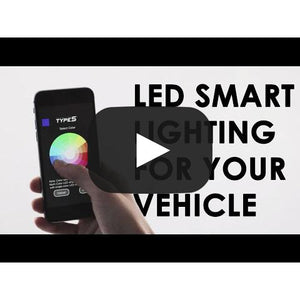 "Plug & Glow™ App-Controlled 7"" Extension Panel Light, Multi-Color"