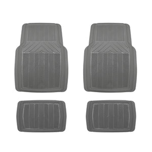 Heavy Rubber Floor Mats, 4 pcs