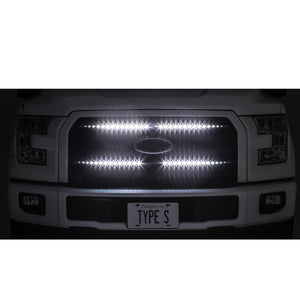 "Plug & Glow™ App-Controlled 72"" Smart LED Front Grill Kit"