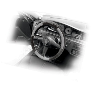 Real Leather Steering Wheel Cover