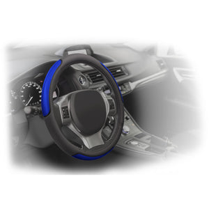 Reflective Stripe Steering Wheel Cover