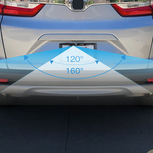 Wireless Solar-Powered Backup Camera with Extended Battery