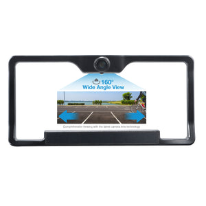 "Wireless Backup Camera  Solar Powered with 6.8"" Wide Screen HD Monitor"