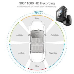 TYPE S DRIVE 360 Dash Cam