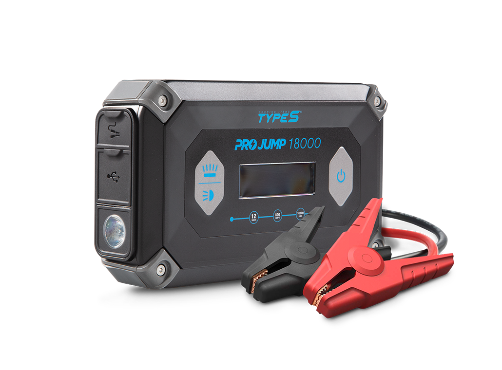 TYPE S 12V 9.0L ProJump™ Jump Starter with 18,000 mAh Power Bank