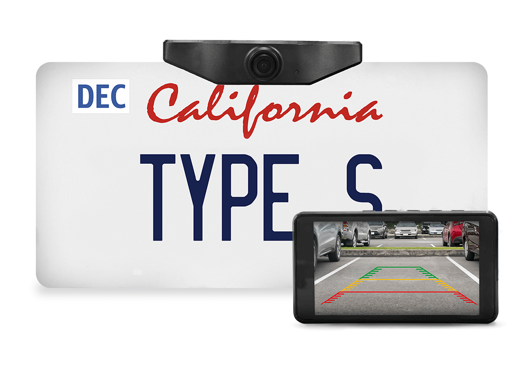 TYPE S HD Backup Camera With 5
