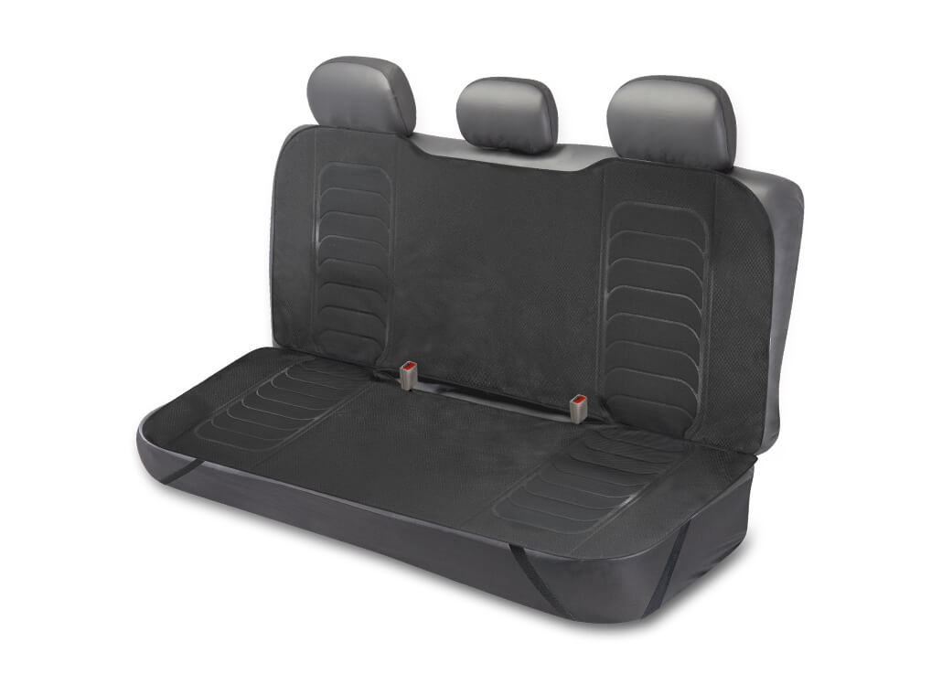 TYPE S Rear Bench Rugged Weave Seat Protector Built with Kevlar®