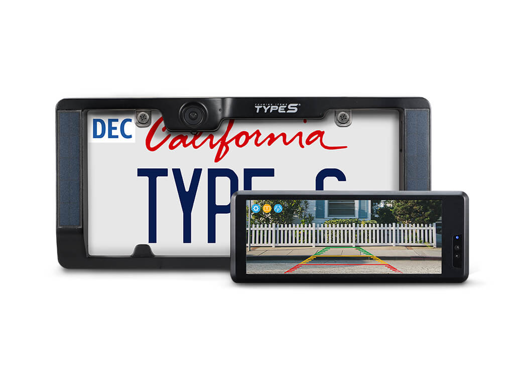 TYPE S Wireless & Solar Powered HD Backup Camera with Extended Battery