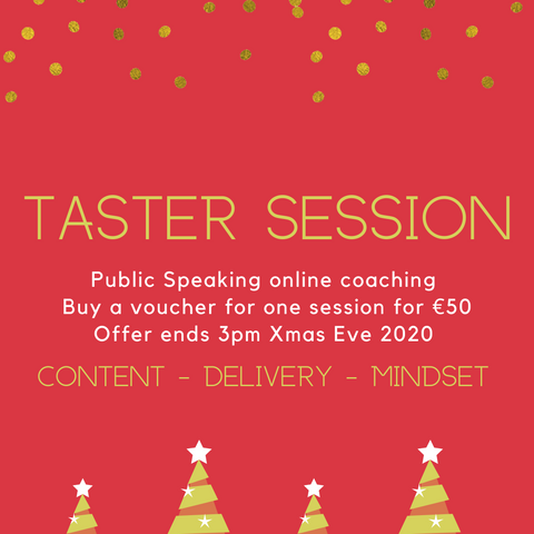 Christmas Sale - Taster Session