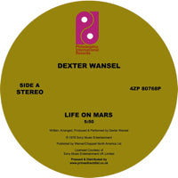 DEXTER WANSEL   /   LIFE ON MARS / THE SWEETEST PAIN