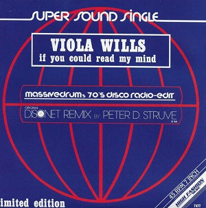 VIOLA WILLS   /   IF YOU COULD READ MY MIND(MASSIVEDRUM'S 70'S DISCO EDIT)