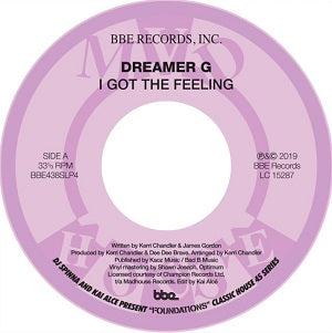 DREAMER G / PRECIOUS / I GOT THAT FEELIN / DEFINITION OF A TRACK
