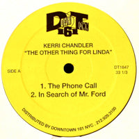 KERRI CHANDLER  / THE OTHER THING FOR LINDA