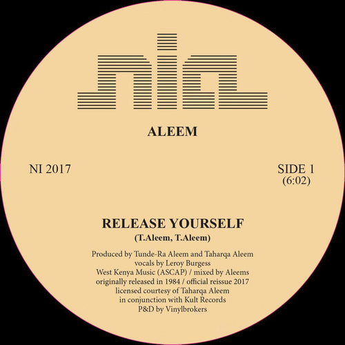 ALEEM  / RELEASE YOURSELF