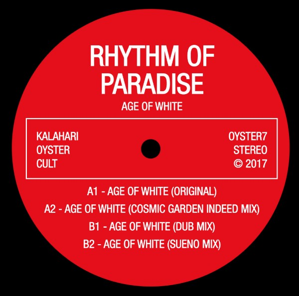 RHYTHM OF PARADISE   /   AGE OF WHITE