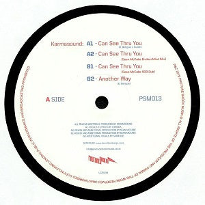 KARMASOUND / CAN SEE THRU YOU - SEAN MCCABE REMIXES