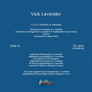 VICK LAVENDER / 1.4.4.5 ( WHERE IT ALL STARTED)