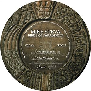 MIKE STEVA / BIRDS OF PARADISE EP