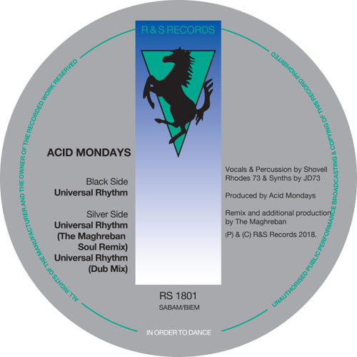 ACID MONDAYS /  UNIVERSAL RHYTHM (THE MAGHREBAN REMIX)