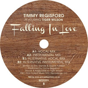 TIMMY REGISFORD   /   FALLING IN LOVE (ft.TIGER WILSON)