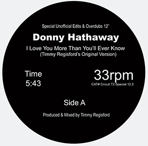 DONNY HATHAWAY   /   I LOVE YOU MORE THEN YOU'LL EVER KNOW(T.REGOSFORD/J.CLAUSSELL)