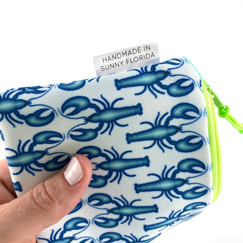 Blue Lobsters Pencil Case