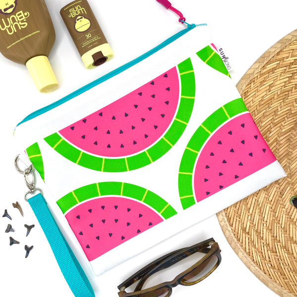 Pink Watermelons Wet Bag