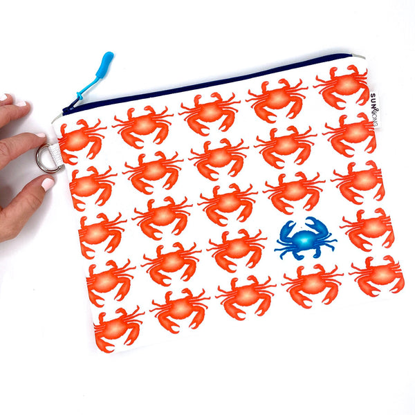 red crab waterproof wet boat bag