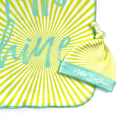 hello sunshine gender neutral baby gift