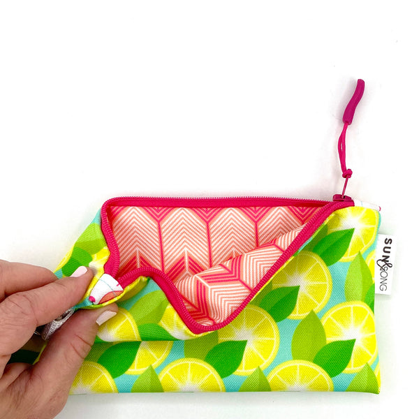 Yellow Lemons Pencil Case