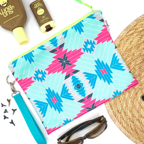 Pink Aztec Wet Bag