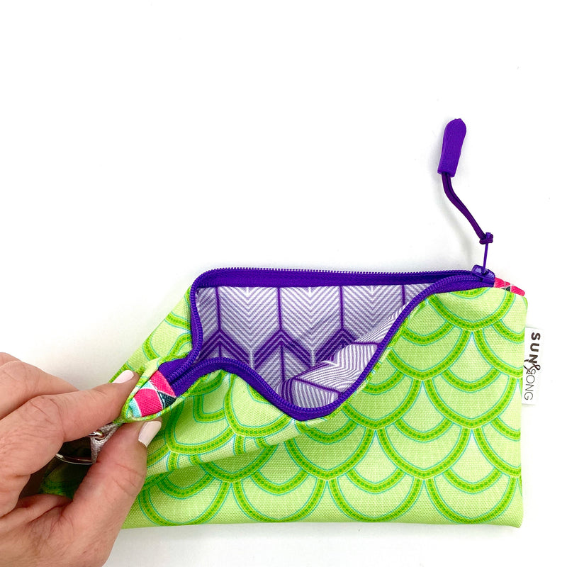 Green Scales Pencil Case