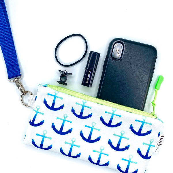 Blue Anchors Pencil Case