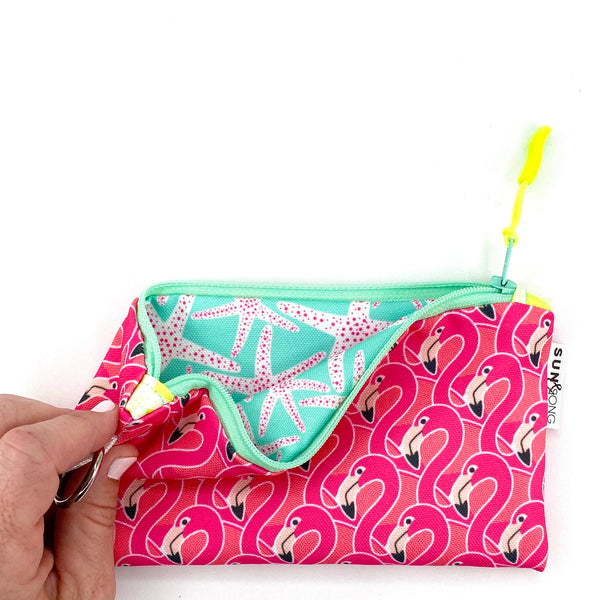 Pink Flamingos Pencil Case
