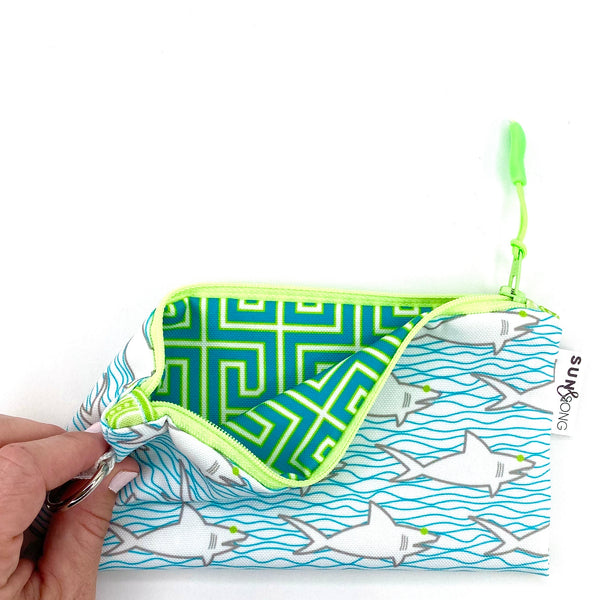 Sharks & Waves Pencil Case