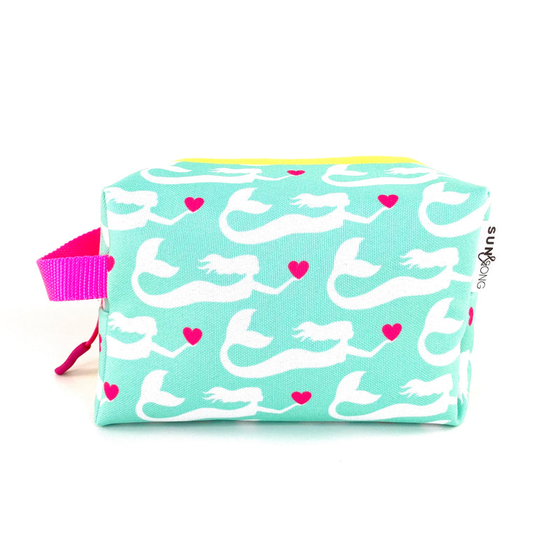 Aqua Mermaids Boxy Toiletry Bag
