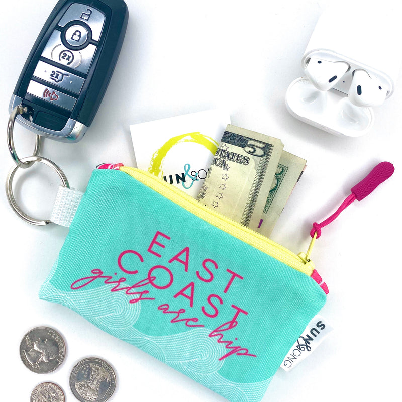 East Coast Girls Key Chain Wallet