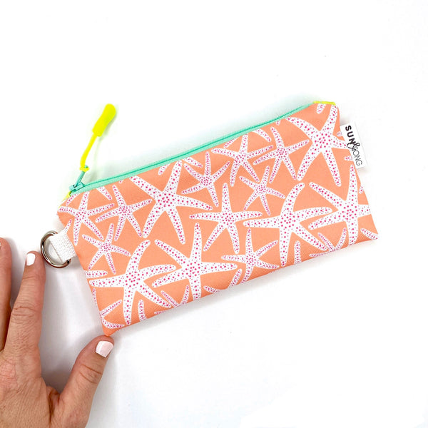 Coral Starfish Pencil Case