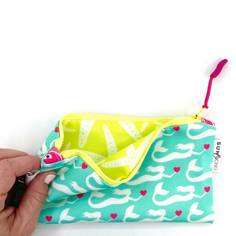 Aqua Mermaids Pencil Case