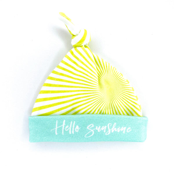 hello sunshine gender neutral baby shower gift