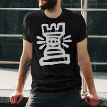 Load image into Gallery viewer, ROOKEYE black unisex tshirt