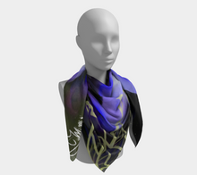 Load image into Gallery viewer, Purple Buddha Tapestry/Scarf