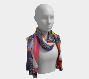 Dovercourt Long Scarf/Fabric Print