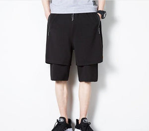 Mens Double Layer Shorts