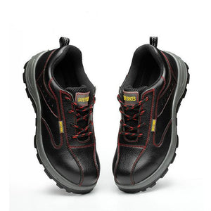 Mens Steel Toe Work  Shoes with Anti Skid surface and Puncture Proof