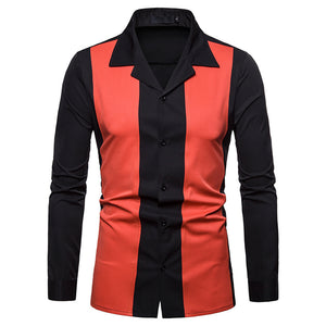 Men Full Sleeve Regular Turn-down Collar Hip Hop Polyester Solid Casual Button Shirts